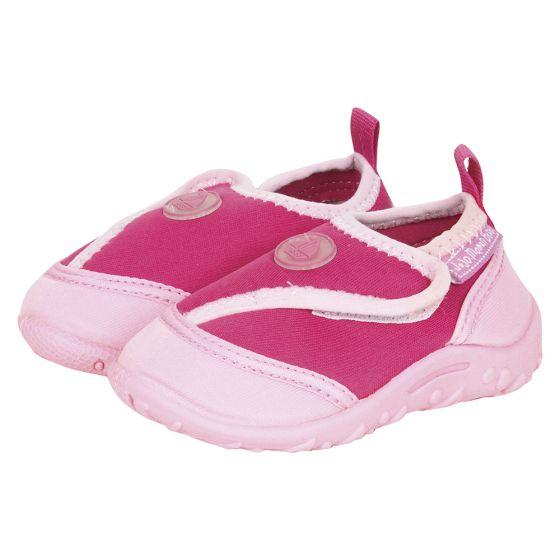 Zapatillas de Neopreno para Bebés y Niños en color rosa para piscina y playa