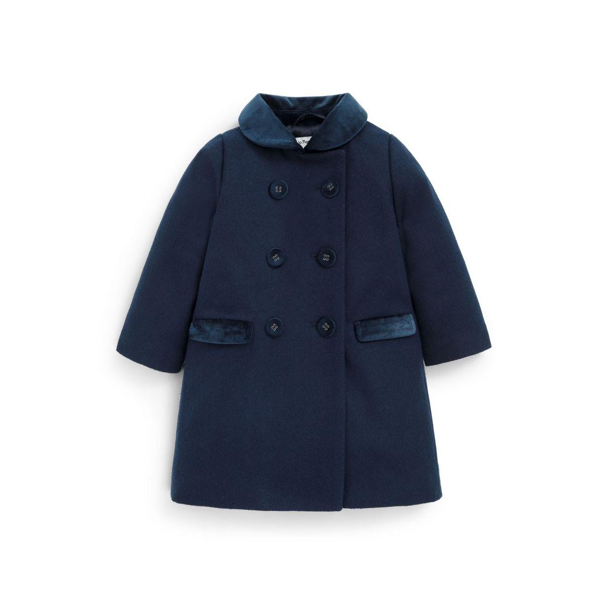 mejor selección de 2019 diseño innovador elegir original Abrigo Clásico Niño color Azul marino