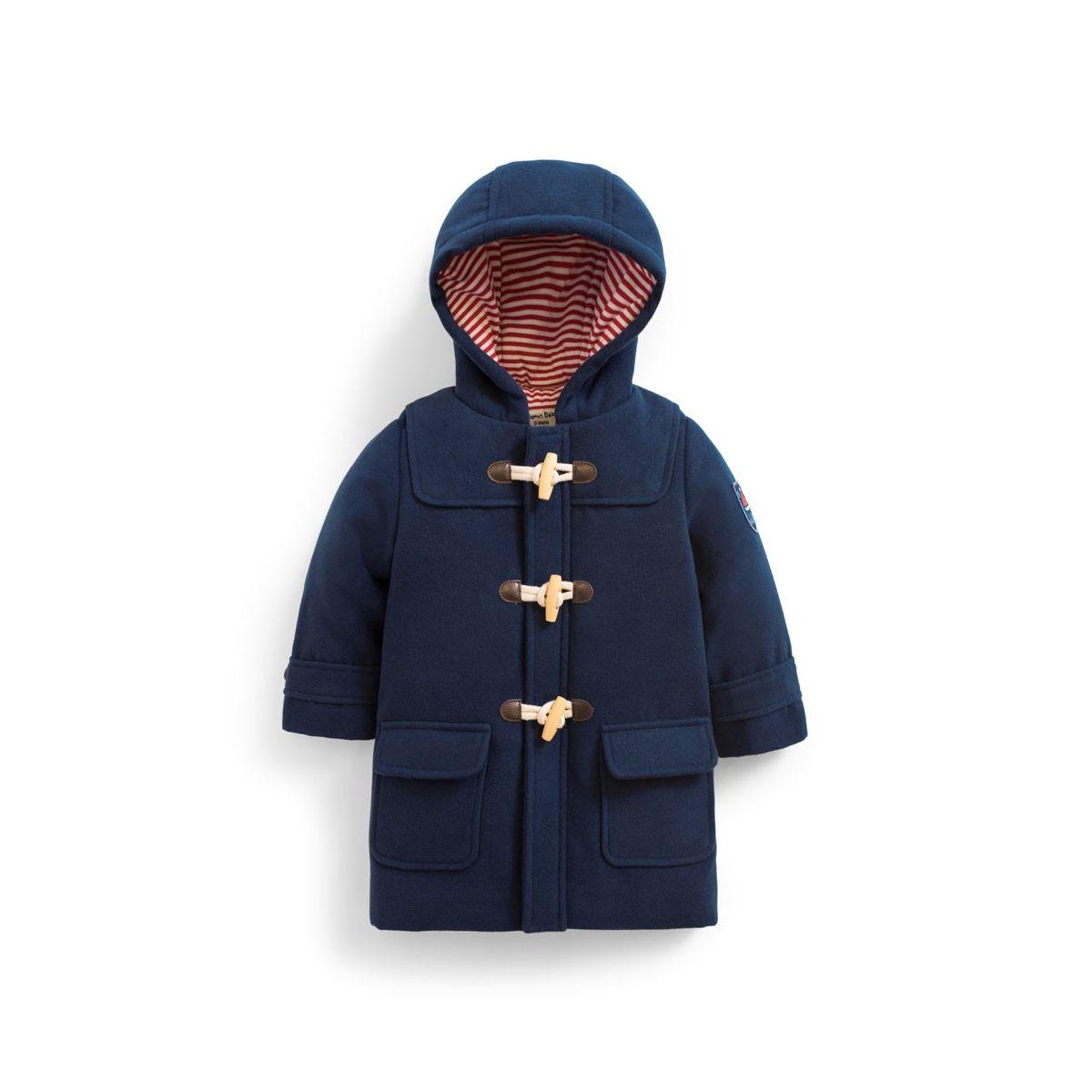 c956ff4ed Abrigo Trenca Larga para Niño Azul Marino - ShopMami