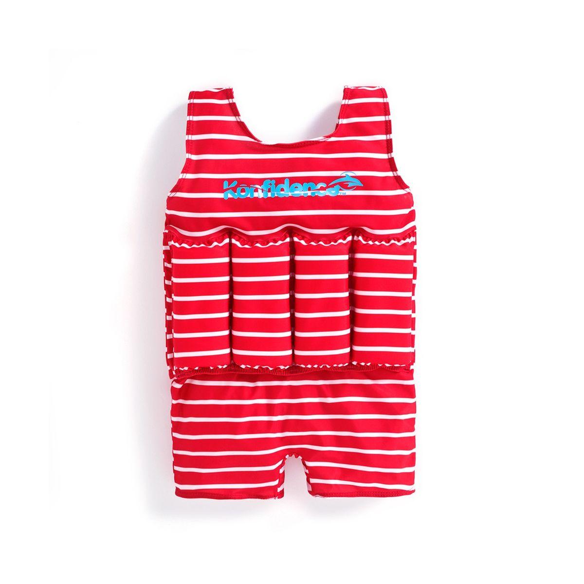 feb15aeea Bañador Flotador para Niño Rojo - ShopMami