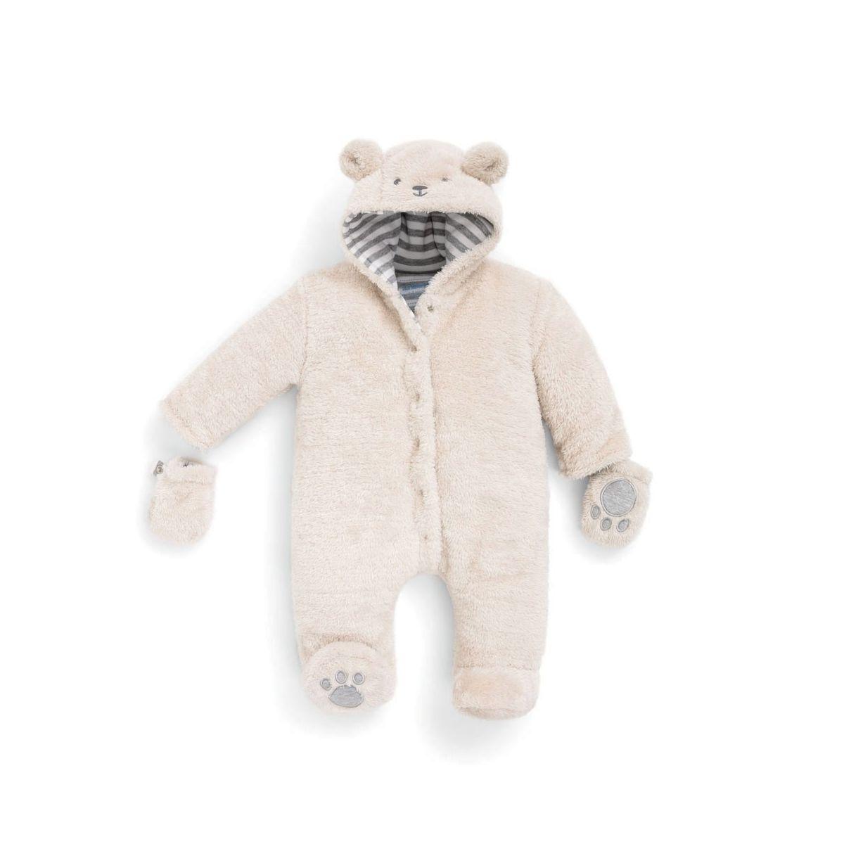 4b7346c930170 Buzo para Bebé de Lana Osito - ShopMami