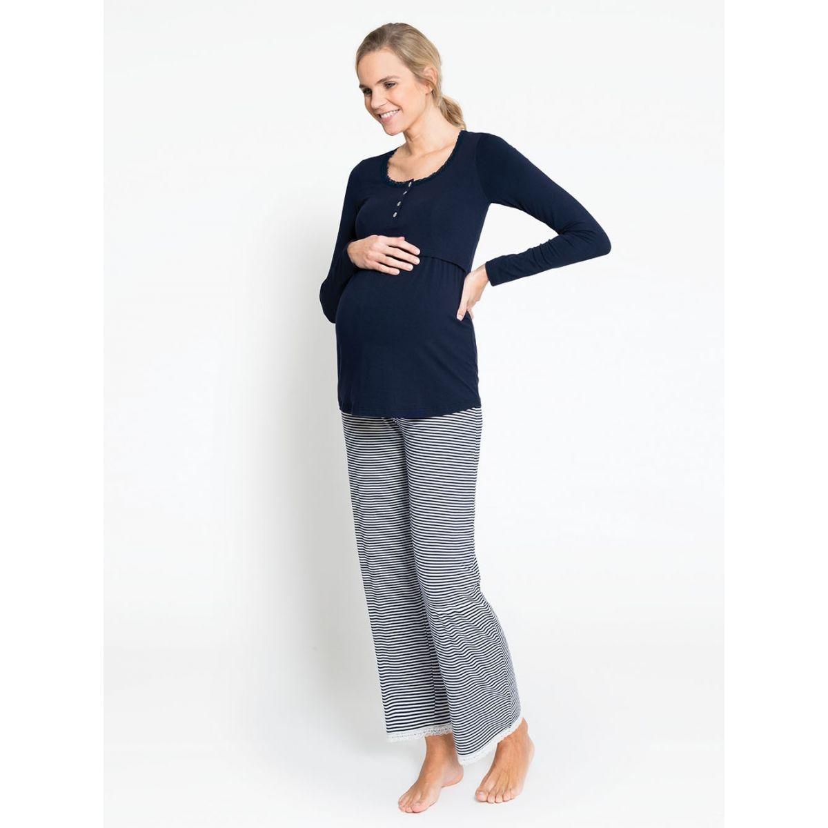 facc2d401 Camiseta de Pijama Embarazo y Lactancia - ShopMami