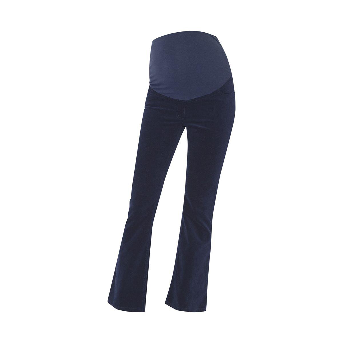 2ee1e20b1 Pantalón Premamá de Pana Bootleg en color Azul Marino