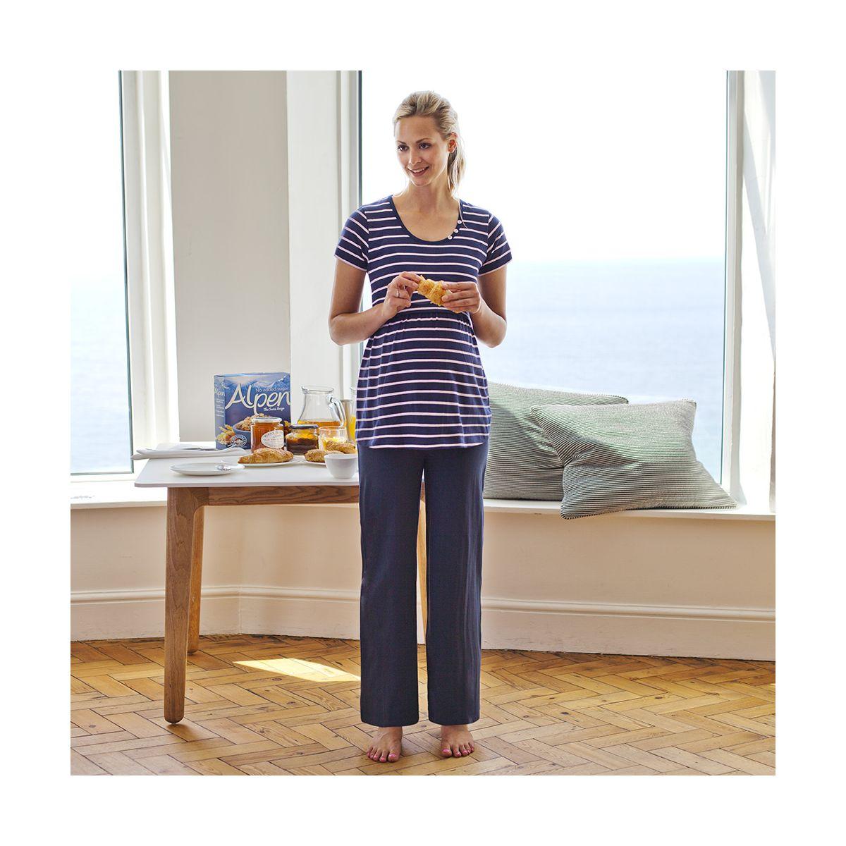 5fdcc455d Pantalón de Pijama Premamá y Post-Parto - ShopMami