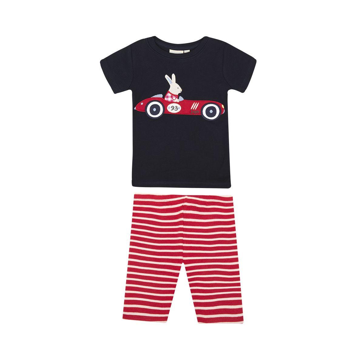 3d4627c001 Pijama Corto para Niños - Coche de Carreras - ShopMami