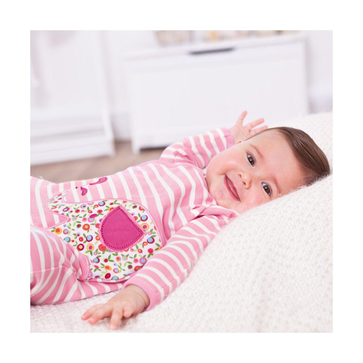 Pijama para Bebé de Elefantes Rosas - ShopMami a5c9443d32c