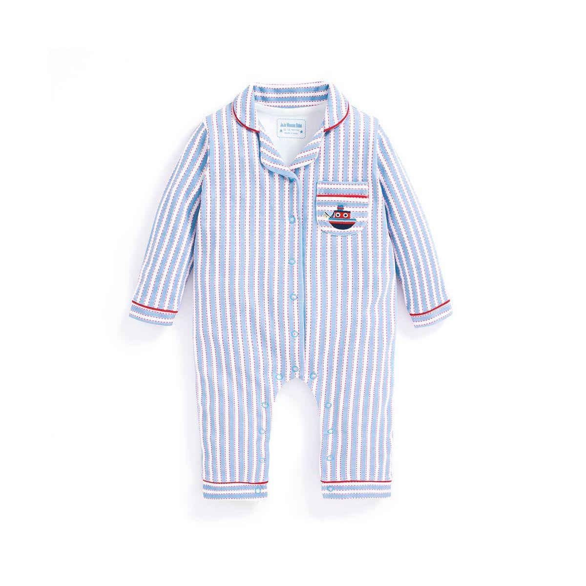a1ac14e239 Pijama para Bebés Rayas Náuticas - ShopMami