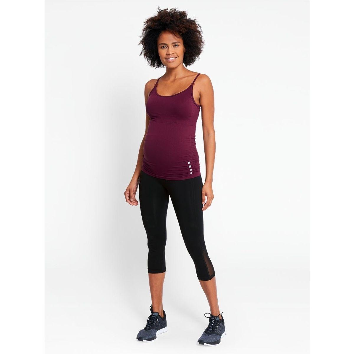 venta caliente online 797ea cd8e7 Top Deportivo Embarazo y Lactancia Active Wear