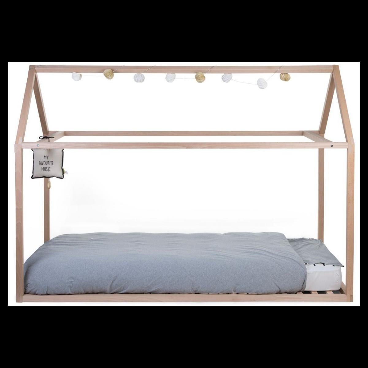 Somier para cama tipi de 90 x 200 cm childhome shopmami for Estructura cama 90x200