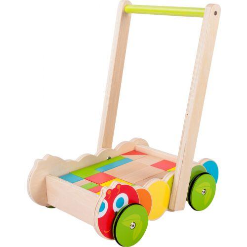 Andador de madera para Bebés Oruga