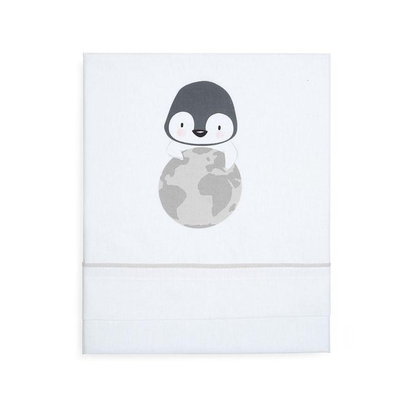 Sábanas de Minicuna My Planet gris - BonJourBebe