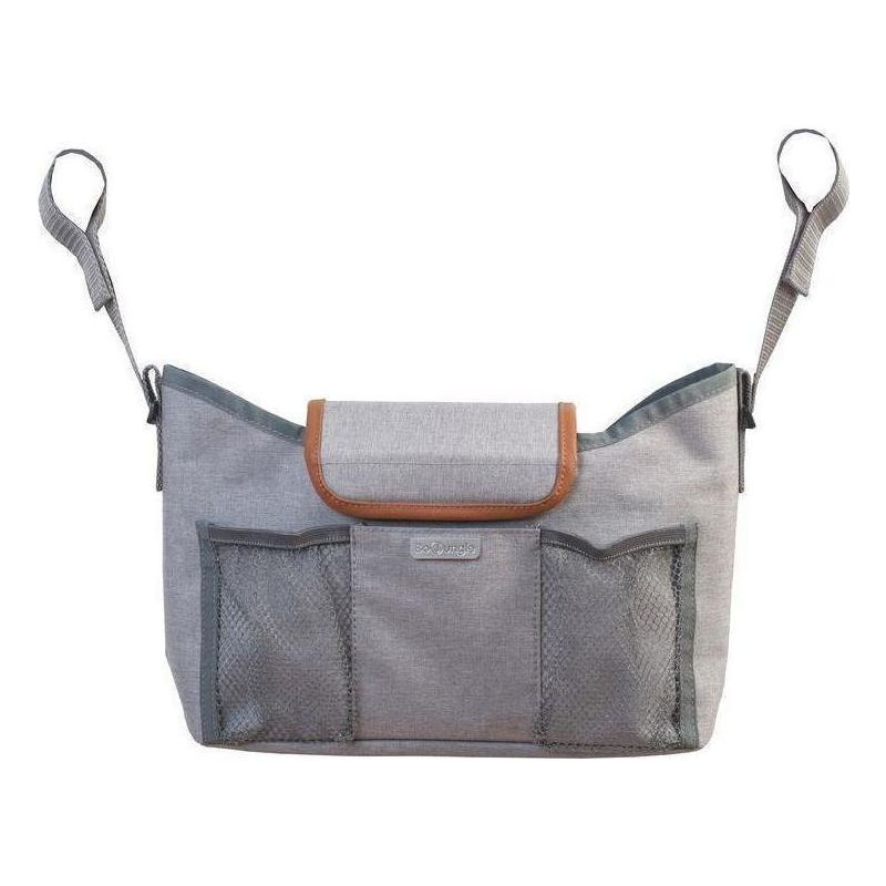 bolso de carro en color gris