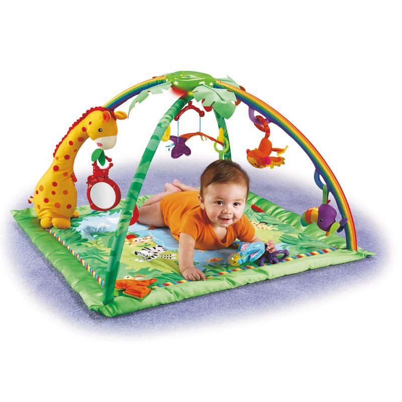 Alfombra Gimnasio para Bebés de Fisher Price Rainforest
