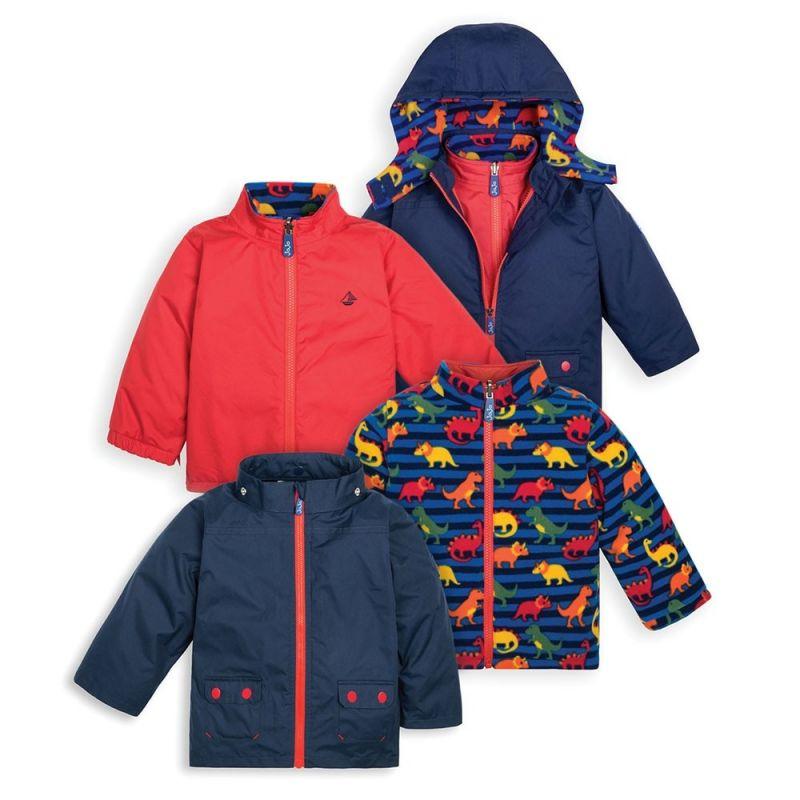 Abrigo para nieve y Lluvia Niños 4 en 1 dinosaurios