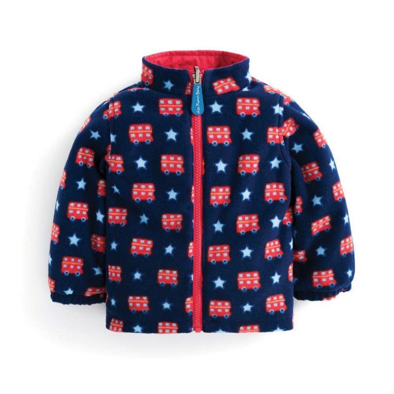 Abrigo para nieve y Lluvia Niños 4 en 1 navy bus