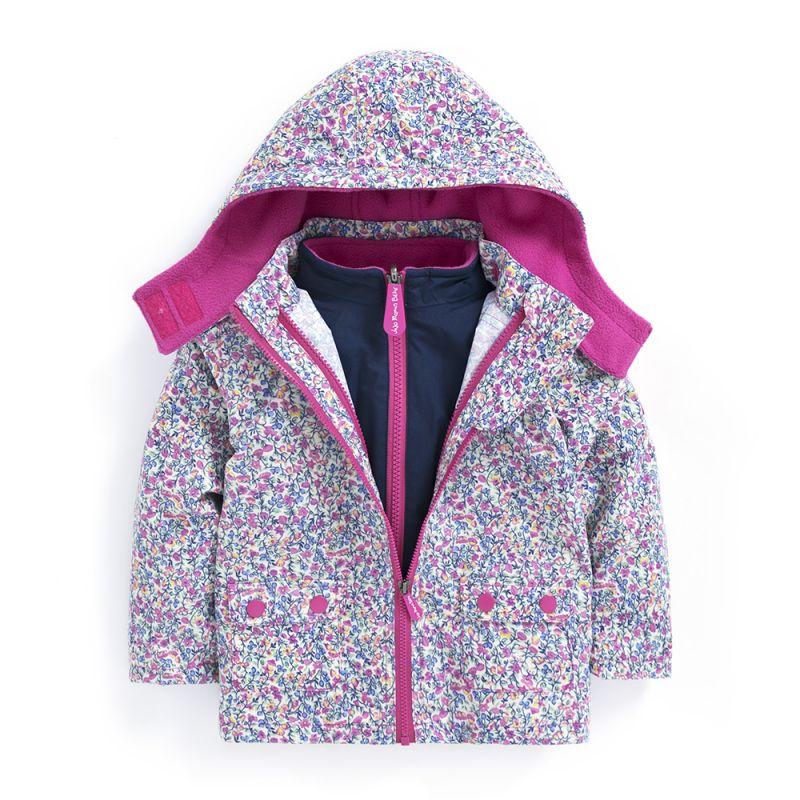 Abrigo para nieve y Lluvia Niños 4 en 1 ditsy