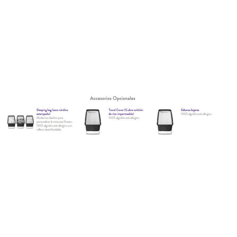Accesorios opcionales para la Minicuna Dream Premium Special Edition de BabyHome