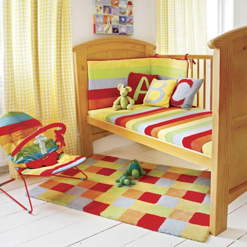 Alfombra para Habitación Infantil de Cuadros