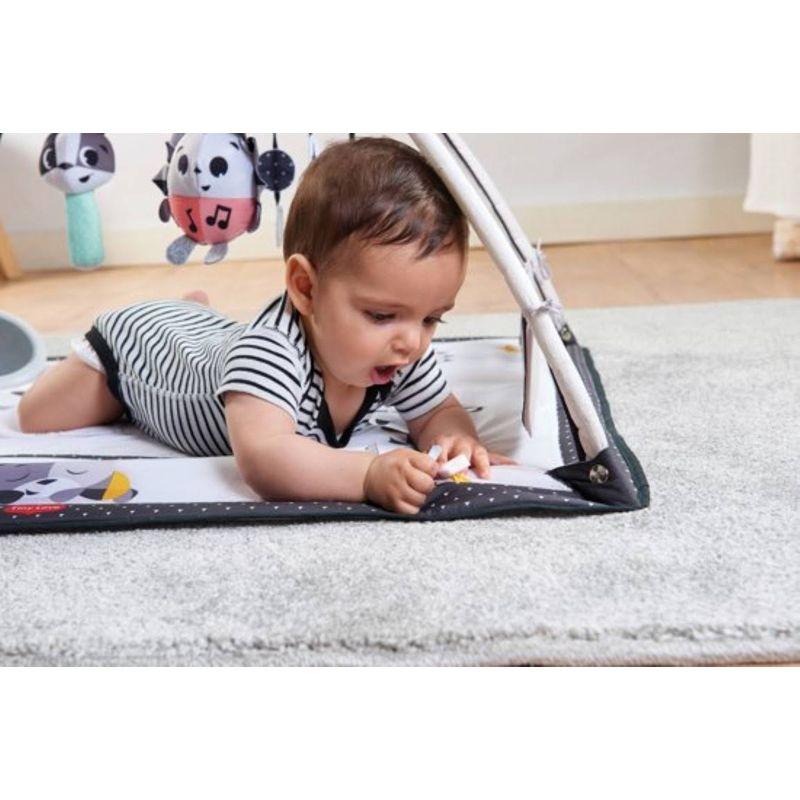 Alfombra Juegos para Bebés Black & White Gymini Tiny Love