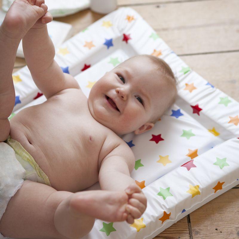 Alfombra Cambiador para Bebés con Estampado de Estrellas