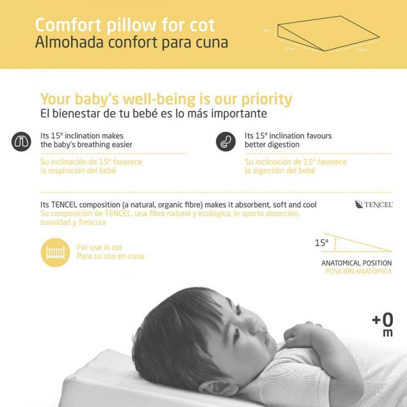 Cojín con Inclinación 15º para Bebé