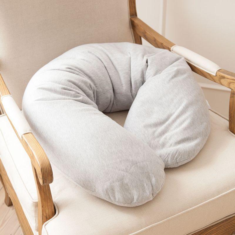 Almohada para Dormir Embarazada Rellena de Semillas