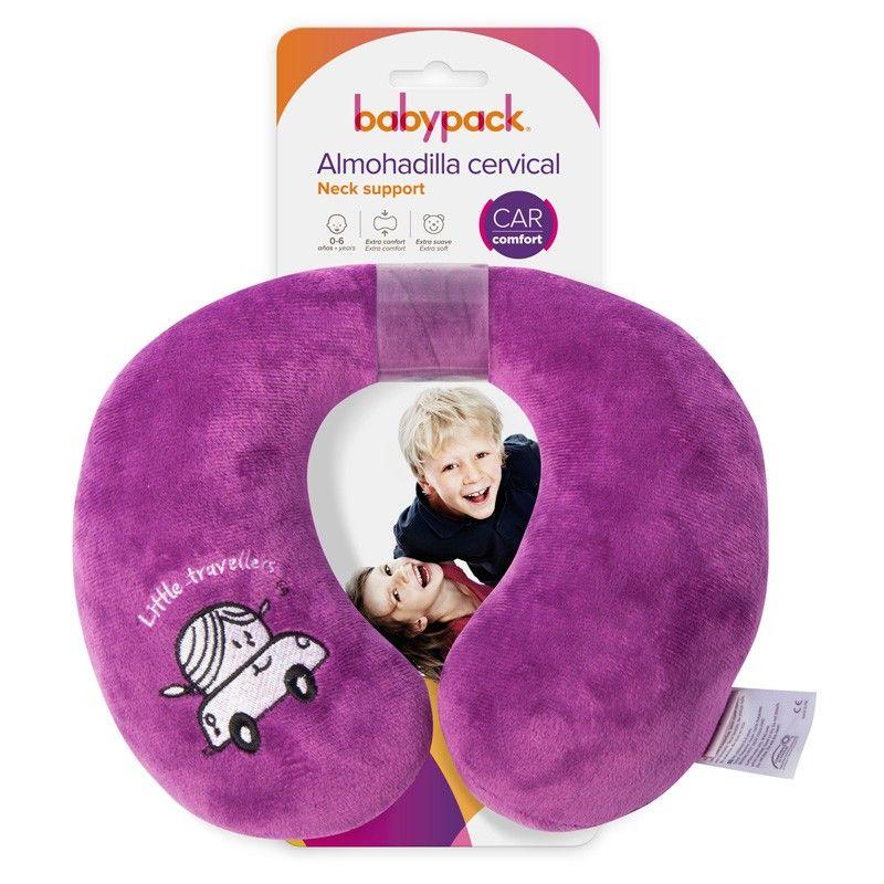 Almohadilla Cervical Bebé Babypack rosa