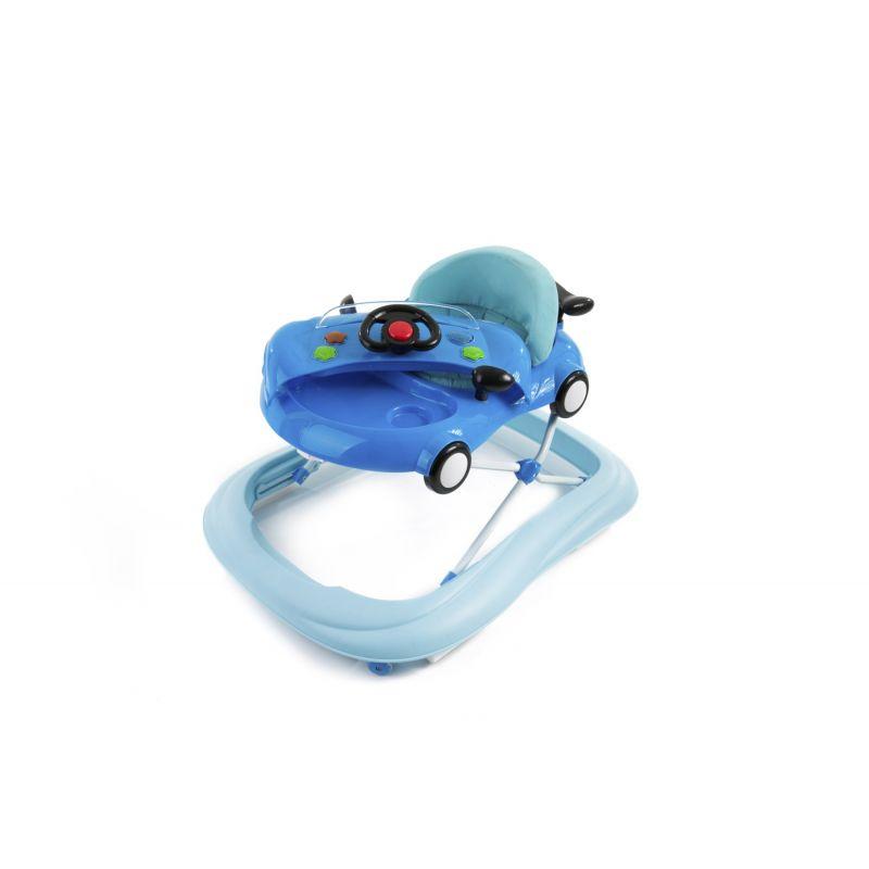 Andador de bebé con volante