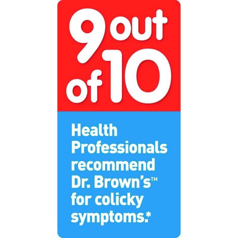 Tetina Dr Brown 6 Meses Nivel 3 - Pack de 2