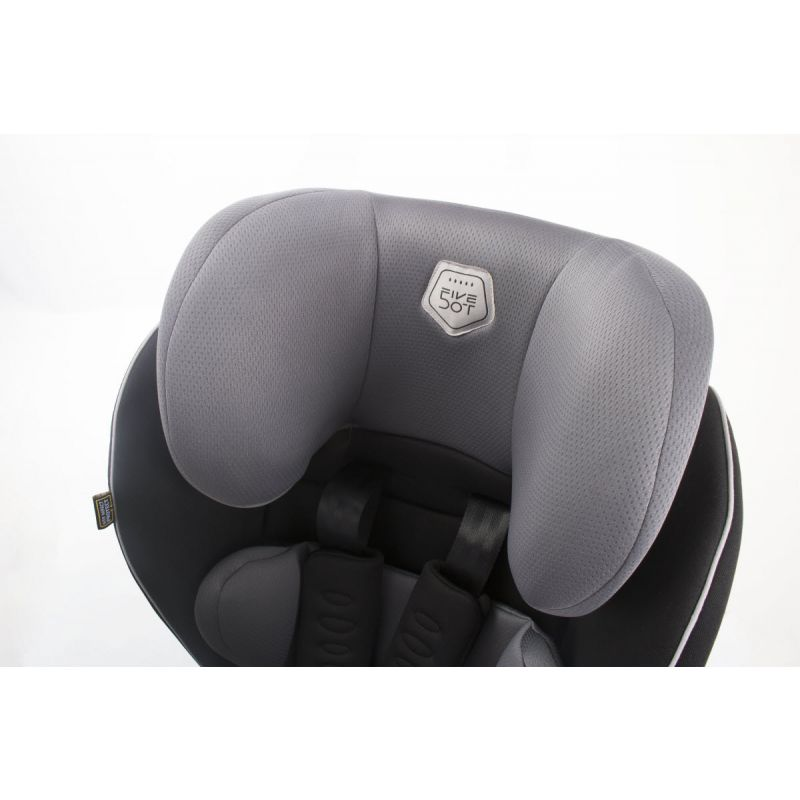 Silla Coche Arka Fix Grupo 1-2-3 5Dot color gris