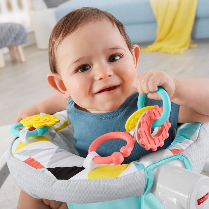 Asiento de Suelo Fisher-Price Sit Me Up Windmill