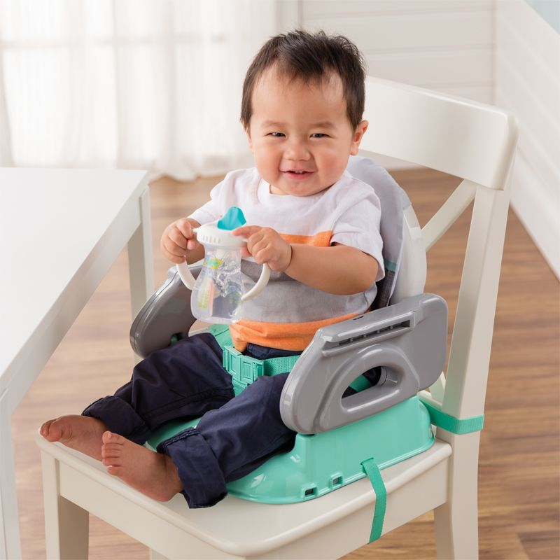Asiento elevador plegable para bebés