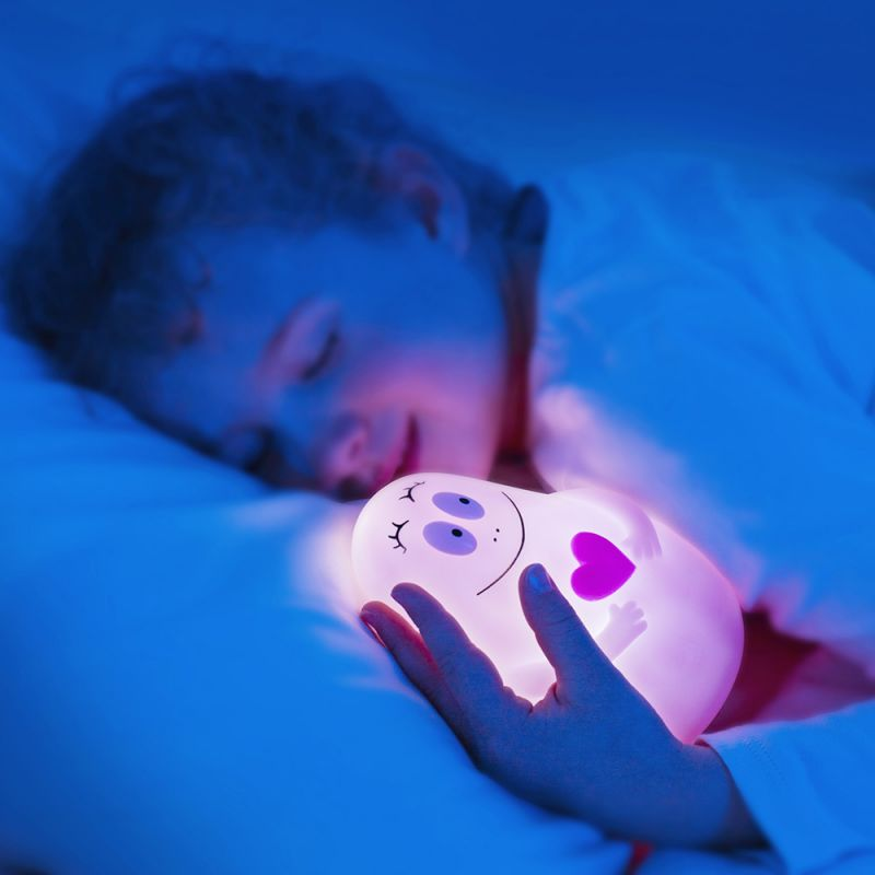 Luz de Compañia para Niños Barbapapa de Pabobo. Rosa