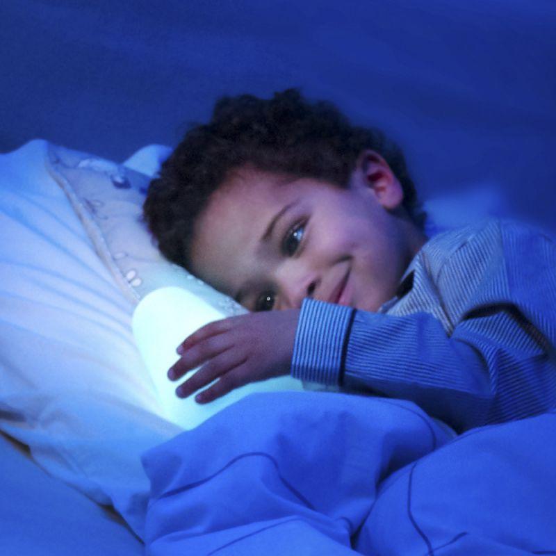 Luz de Compañia para Niños Barbapapa de Pabobo. Azul.