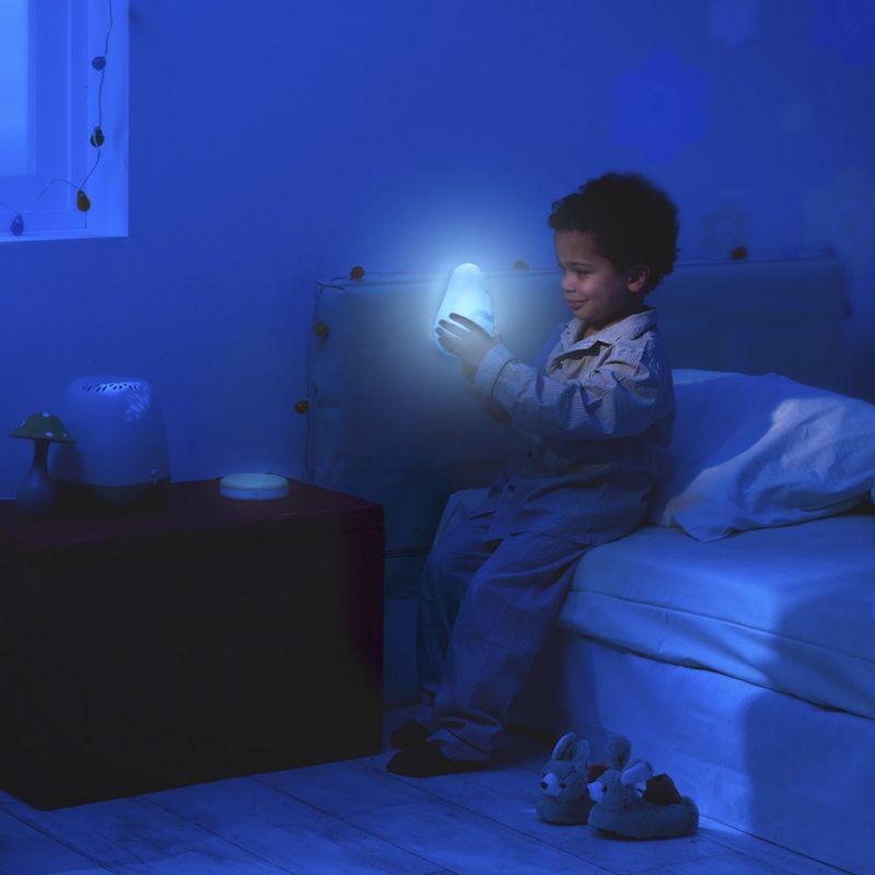 Proyector de Luz para dormir Niños Barbapapa de Pabobo en color Azul