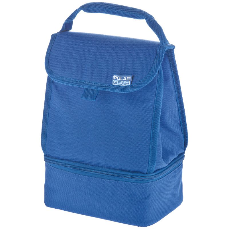 Bolsa Térmica de Polar Gear de Dos Compartimientos Azul