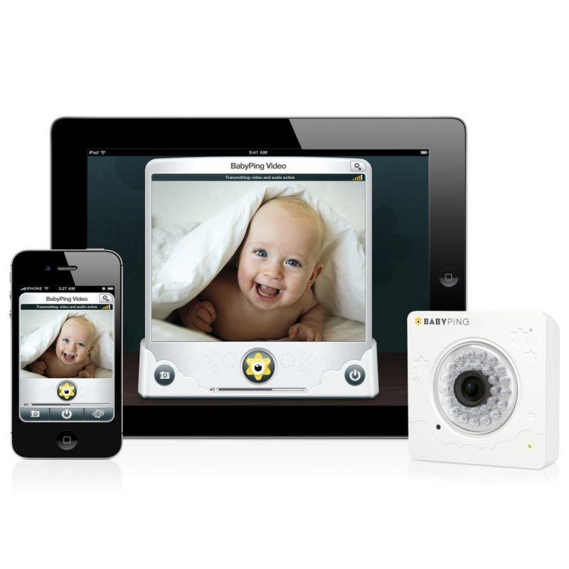 BabyPing.Vigila a tu Bebé desde un Iphone&IPad