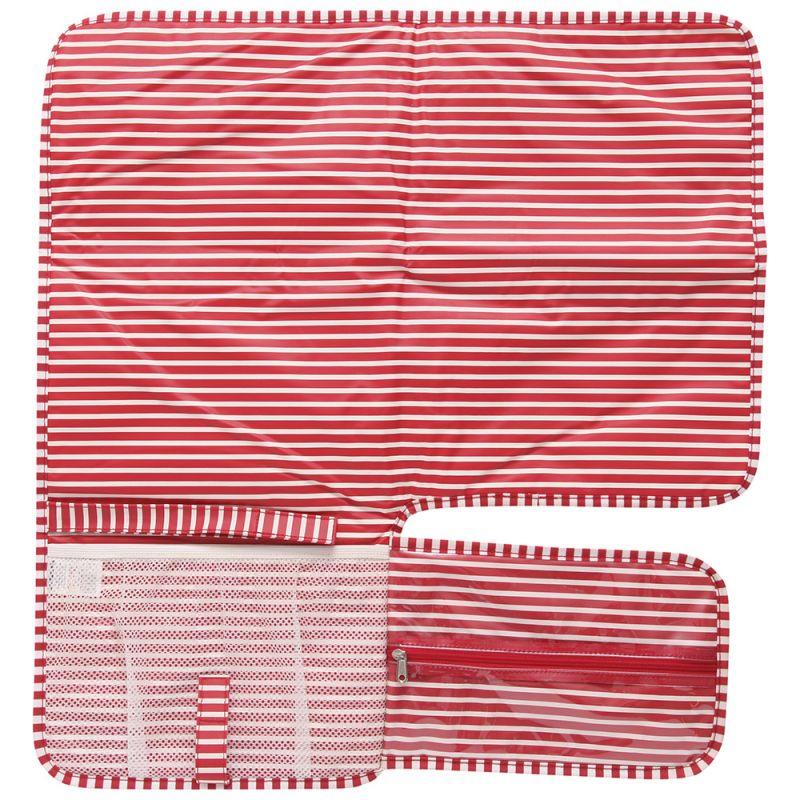 Cambiador de Pañales para Bebés en color rojo