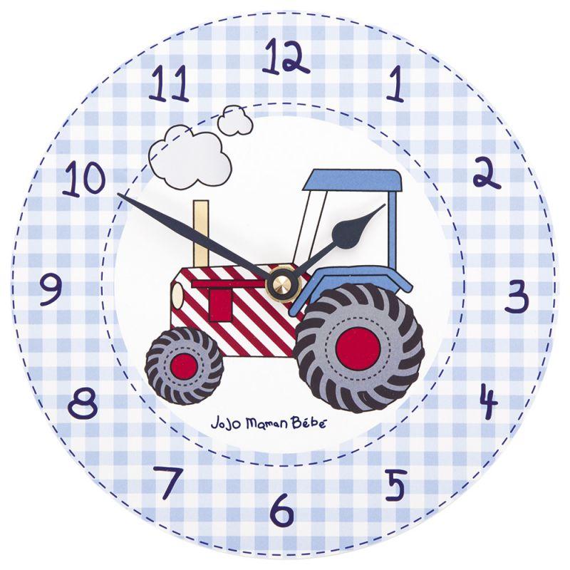 Reloj de Pared para Dormitorio Infantil Maquinaria