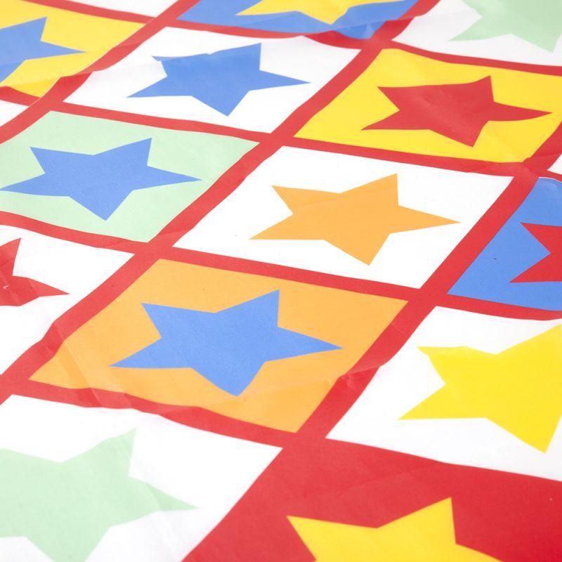 Alfombra de Plástico para Proteger el suelo con Estampado Estrellas