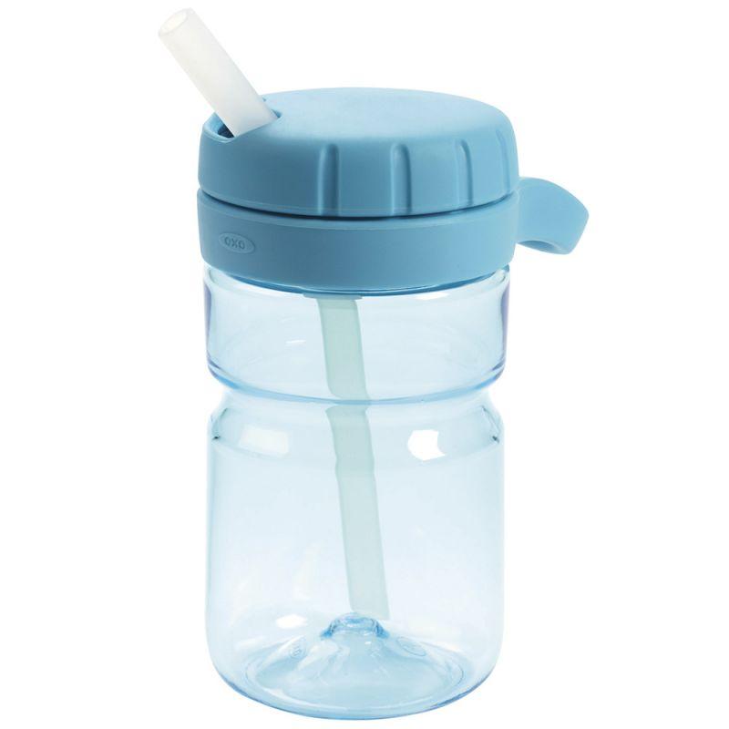 Vaso con Tapa para Bebés Oxo Top Azul