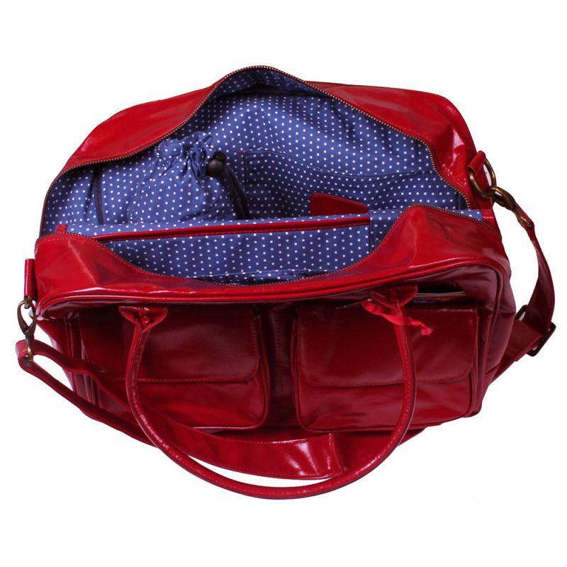 Bolso Cambiador Rojo Brillante de Koto