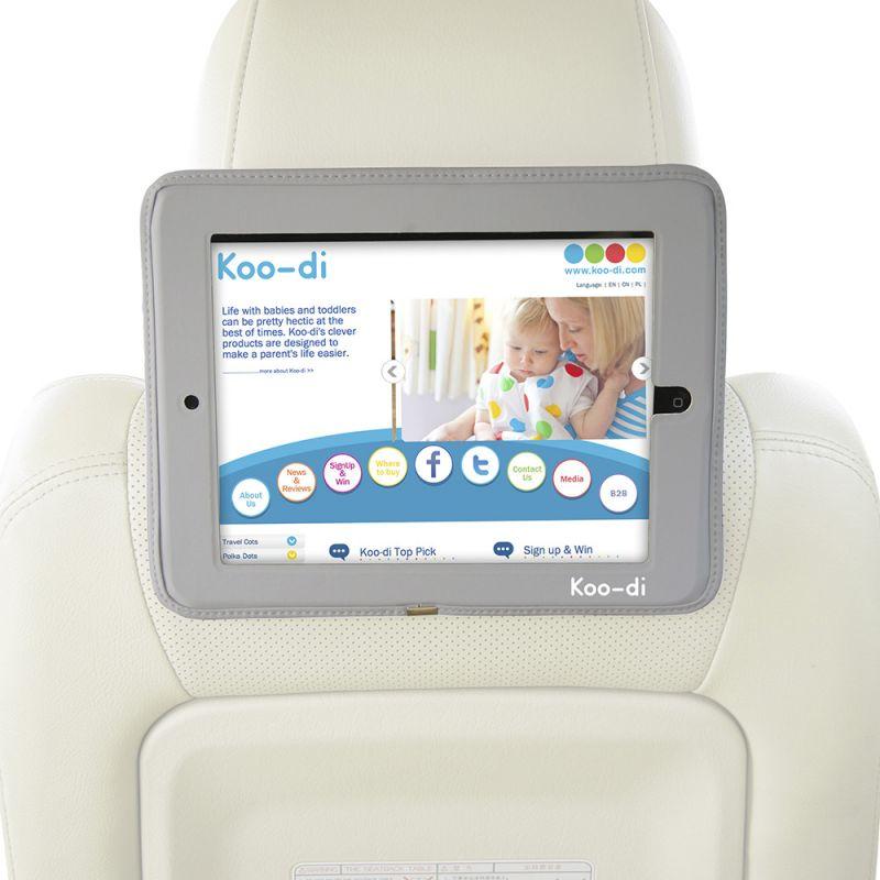 Soporte de Asiento de Coche para el iPad, iPad 2 y el Nuevo iPad de Koo-di