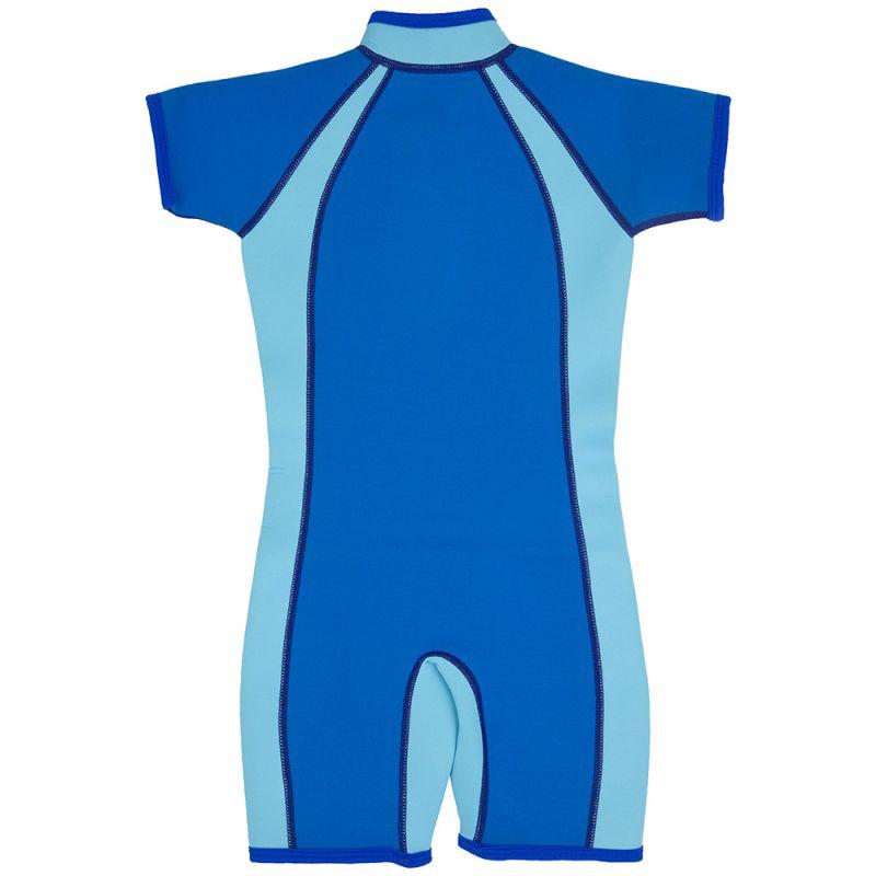Bañador de neopreno para niño en color azul