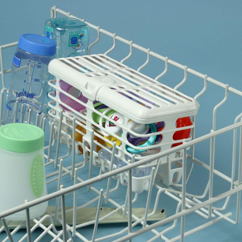 Cesta para lavar Tetinas, Chupetes y Biberones en el lavavajillas