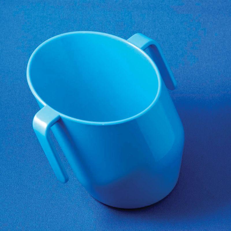 Vaso de aprendizaje para bebés de Doydy en color Azul