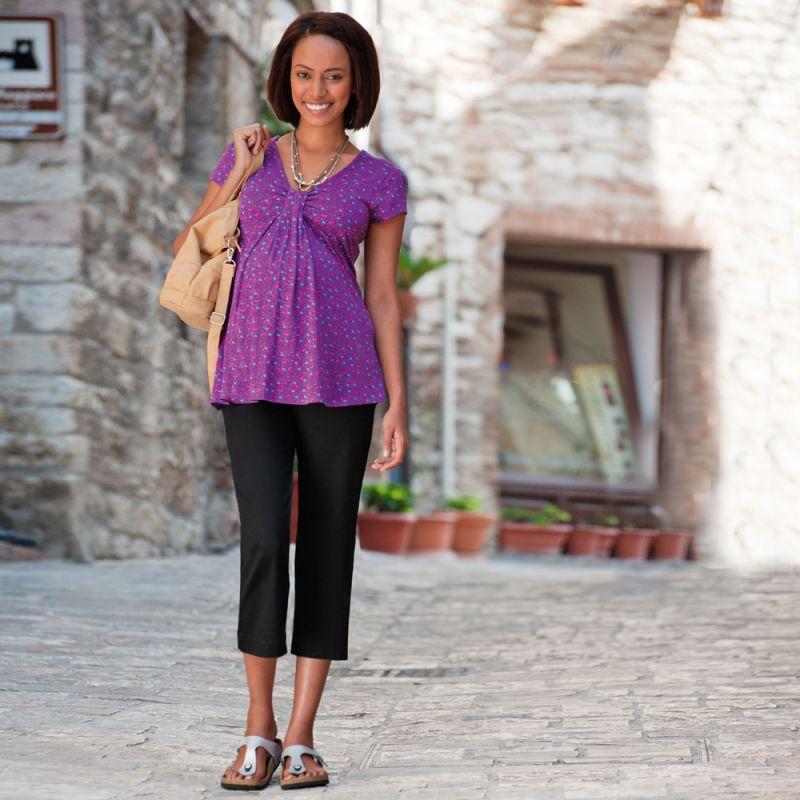 Camiseta Premamá Purple