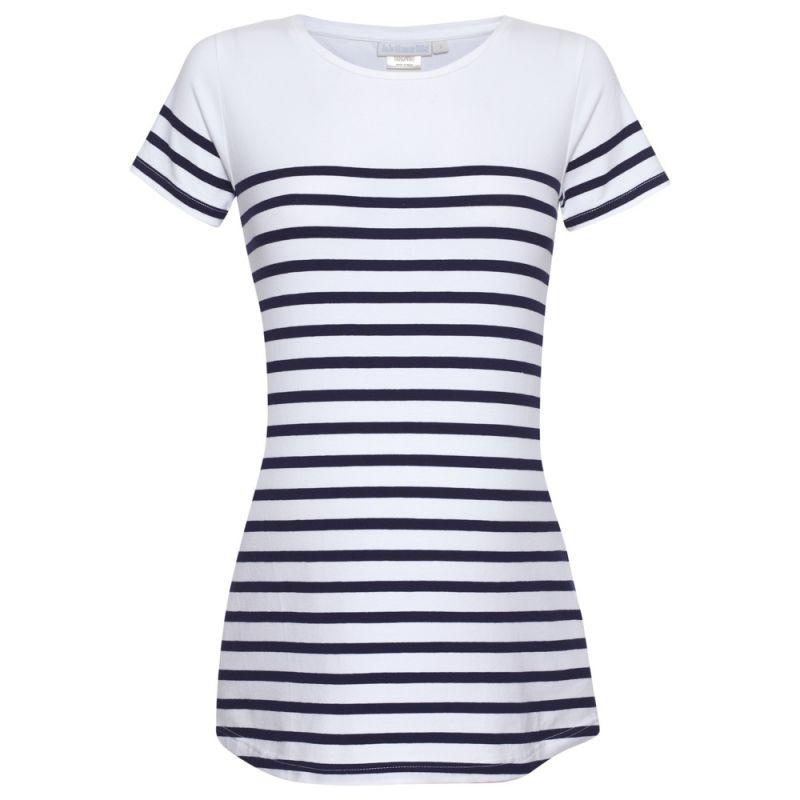 Camiseta Premamá Marinera - Blanca