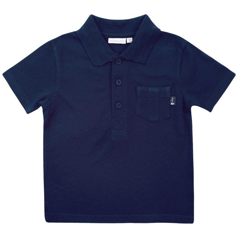 Polo de Niño Liso Azul