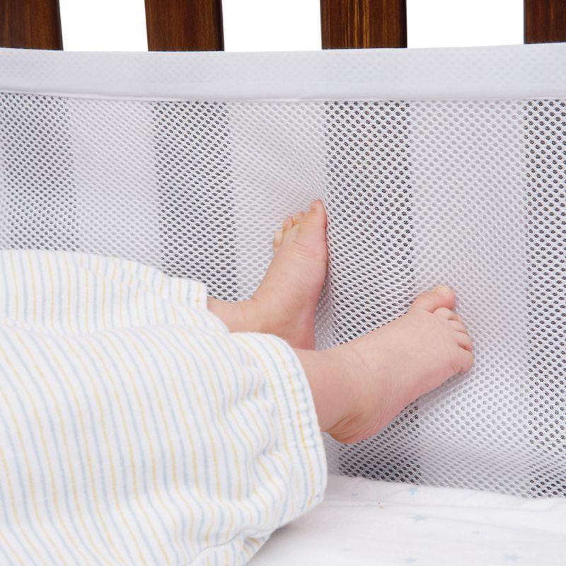 Protector de Cuna 4 Caras Transpirable de AirWrap